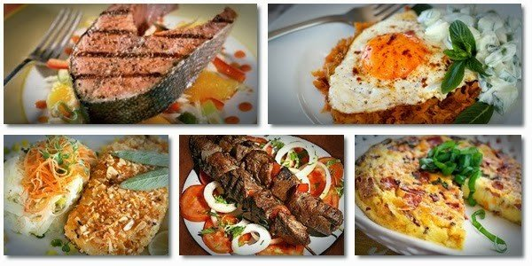list of paleo diet recipes