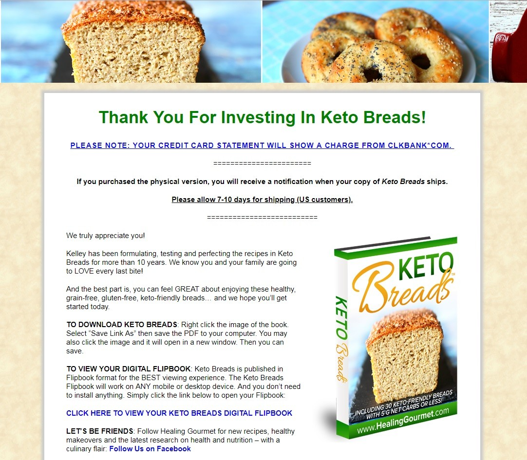 Kelley Herring's Keto Breads Download Page